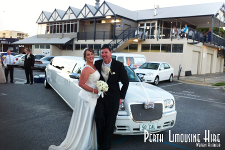 perth chrysler limousine hire
