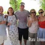 James and family enjoying the wines at Lamonts in the Swan valley