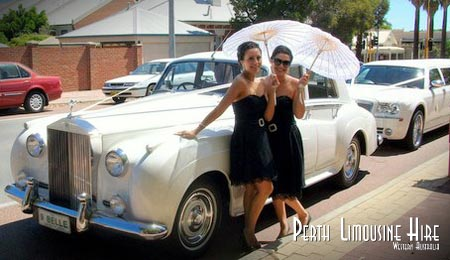 wedding limousines perth wa