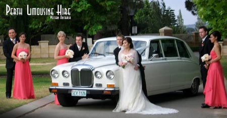 daimler limo hire perth