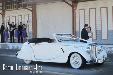 fremantle docks wedding car photo