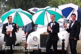 wet wedding cars perth